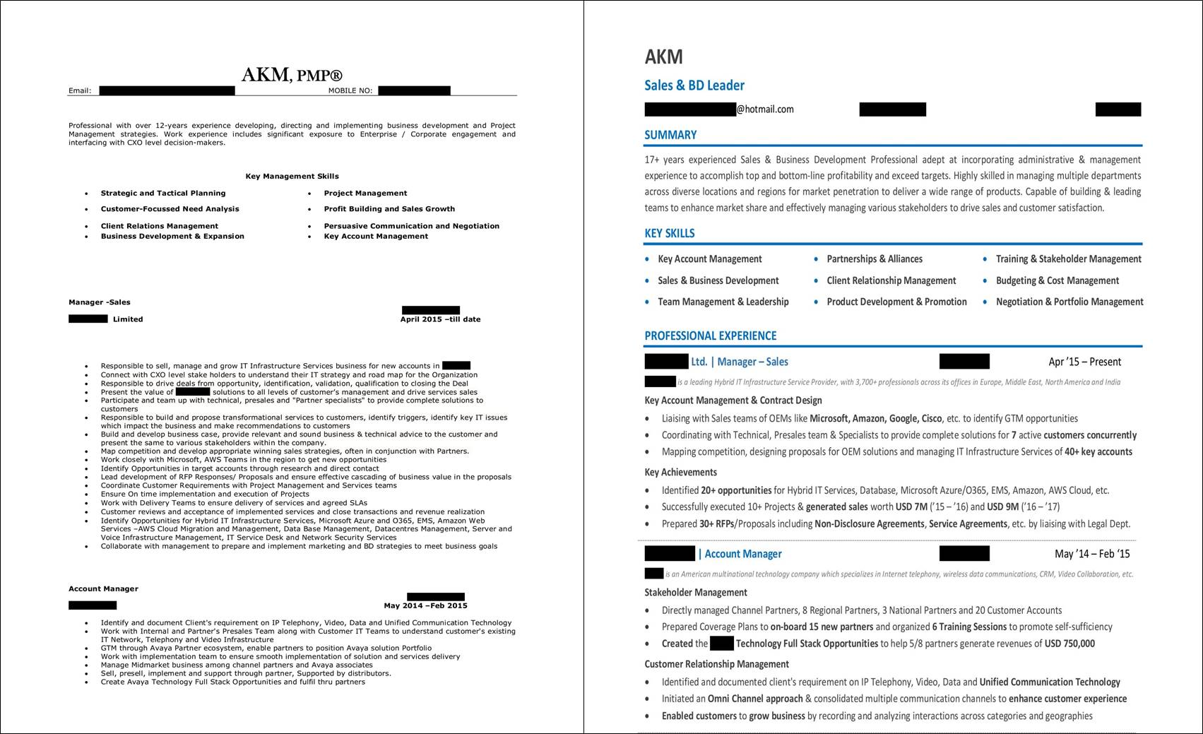 Sample Sales Resume | Sales Resume Examples And Samples