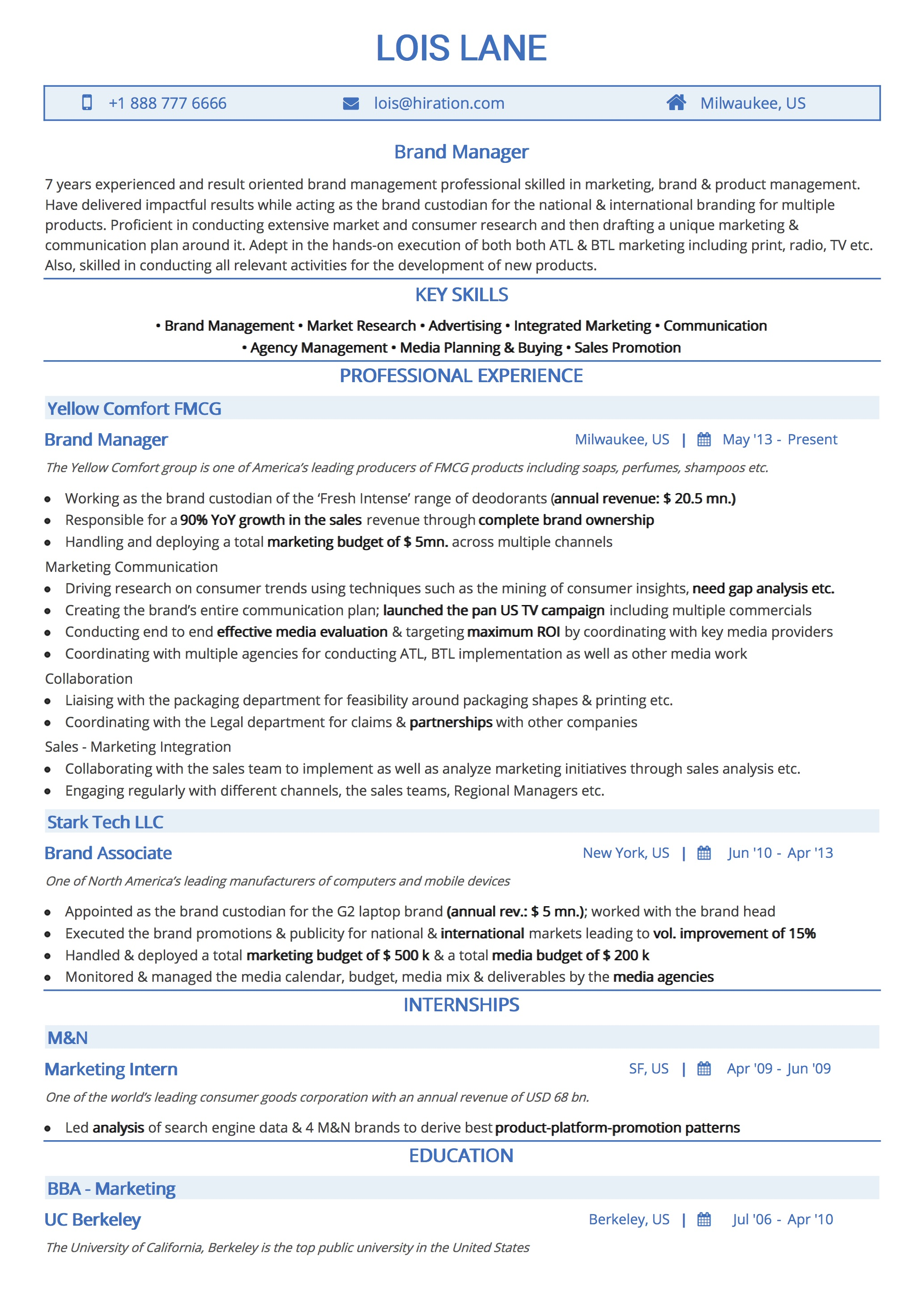 professional resume templates by hiration