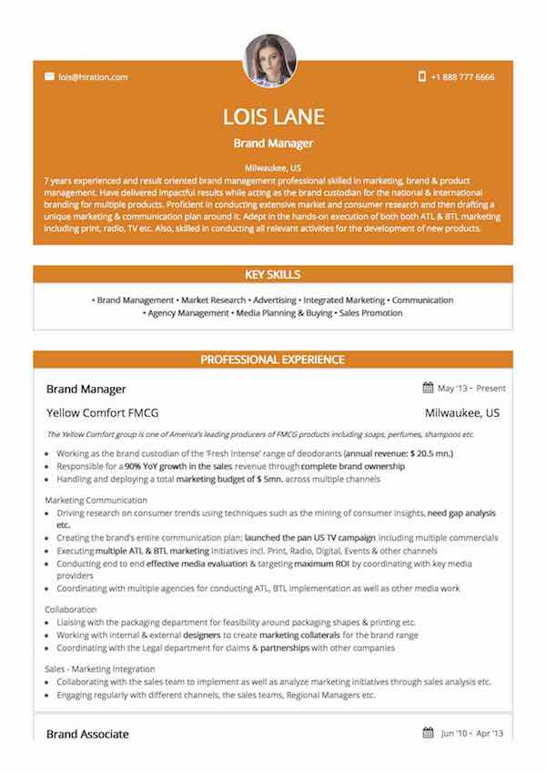 Sales Associate Resume Sample by Hiration – Sales Management Plan Template