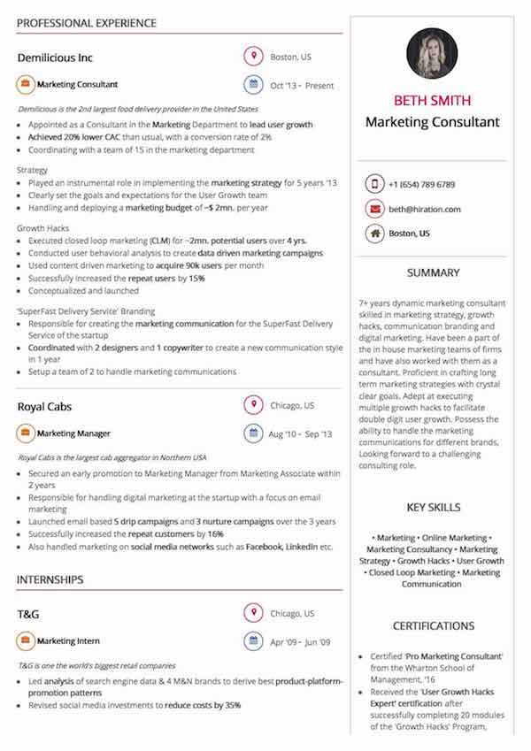 supply chain manager resume sample by hiration